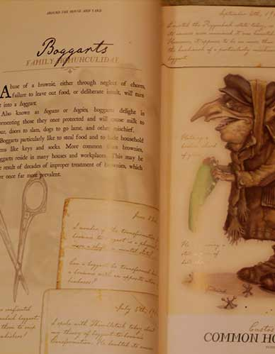 the_cronicals_of_Spiderwick_myths_magic_animals_Foliant_kg